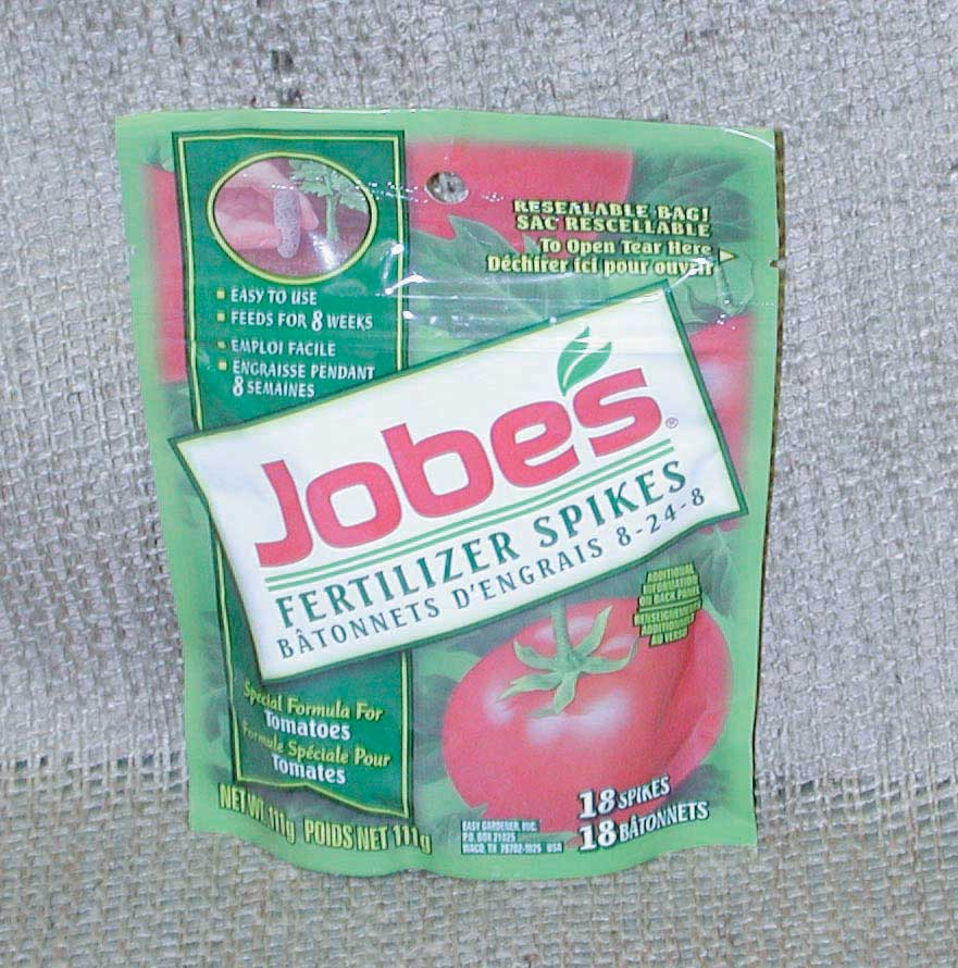 Tomato Fertilizer Spikes - Qty. Box18